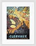 TRAVEL CLERVAUX GRAND DUCHE LUXEMBOURG BELGIUM FRAMED ART PRINT MOUNT B12X10169