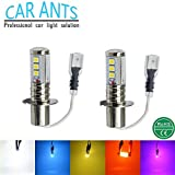 Auto Ameisen Auto Parts extrem helle Chips h3-h Serie, 30W 1400lm LED Nebel Glühlampen, Plug-n-Play-Cool weiß Farbe (2Stück)