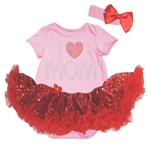 Petitebelle -  Body  - Bebè femminuccia Pink 0 - 3 mesi
