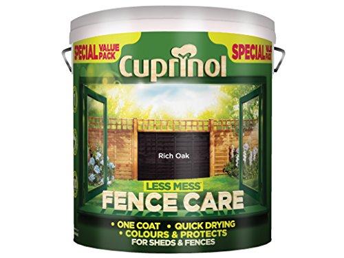 cuprinol-lmfcro6l-6-litre-less-mess-fence-care-rich-oak