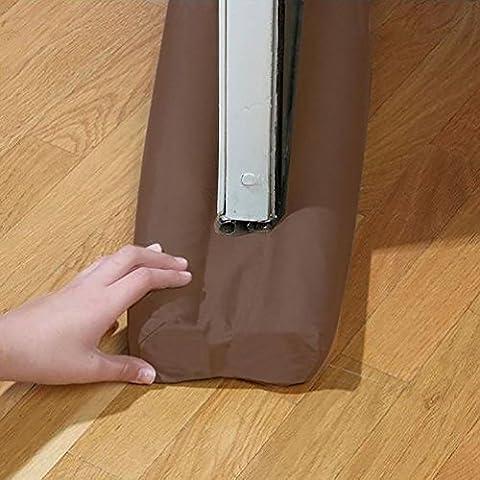 Protection Double boudin de porte isolant Bouchon de porte & fenêtre d'économie d'énergie