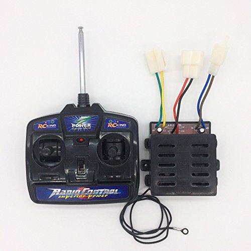 27MHz Fernbedienung und Steuerung für Kinder Elektrofahrzeug, 12v empfänger Platine Hauptplatine für Elektro Kinderauto Elektrische Spielzeug