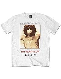 The Doors American Poet Jim Morrison Rock offiziell Männer T-Shirt Herren