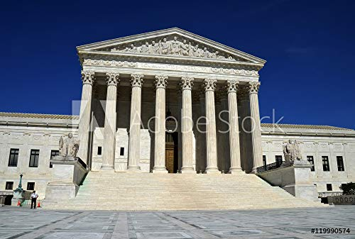 druck-shop24 Wunschmotiv: US Supreme Court #119990574 - Bild als Foto-Poster - 3:2-60 x 40 cm / 40 x 60 cm