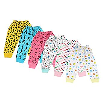 1dca182cc Littly Unisex 100% Pure Cotton Baby Pyjamas Lowers for Kids Toddlers ...