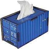 Werkhaus Container Tissue Box blau