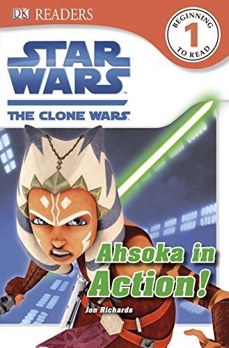 Star Wars the Clone Wars Ahsoka in Action! (DK Readers Level 1) by Jon Richards (2013-01-17) par Jon Richards