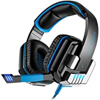 KOTION EACH G8000 Stereo Gaming Headset pc con microfono, cuffie con