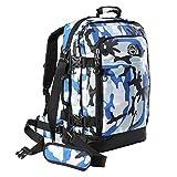 Lo zaino da viaggio Metz Plus Plus porta la versatilità bagaglio da cabina ad alto livello, con una serie di miglioramenti rispetto alla borsa standard. Realizzato in poliestere 840D resistente, la borsa Metz Plus può essere trasportata come uno zain...