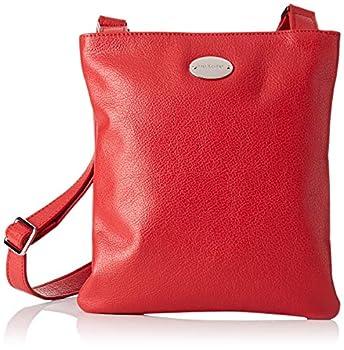 Mac Douglas femme Vapes Buni Int Sac porte epaule Rouge (Rouge Fraise)