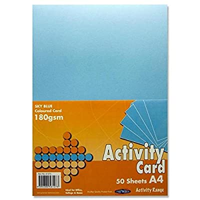 A4 Activity Card 160gsm Pack of 50Sheets : everything 5 pounds (or less!)