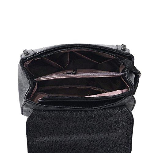 Sacchetto Di Spalla Di Modo Della Borsa Del Messaggero Pacchetto Bag Purple