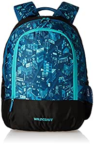 Wildcraft wiki city 1 blue Backpack