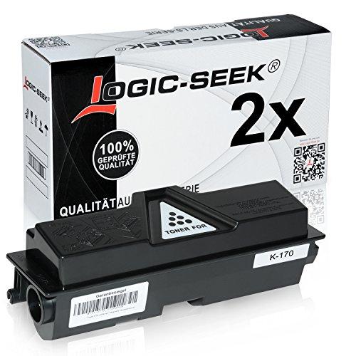 Preisvergleich Produktbild Logic-Seek Toner für Kyocera TK170 1T02LZ0NL0, je 7200 Seiten, schwarz