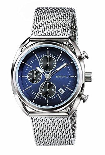 Breil orologio cronografo quarzo uomo con cinturino in acciaio inox tw1529