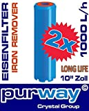 2 x PFEX IRON Eisenfilter Eisen Wasserfilter Enteisenung Mangan Chlorid Sulfit Oxid