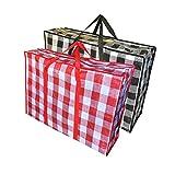 Reisetaschen, Handtasche, Wäschesack - Tasche für Haus Ziehen, Reisen, speicher.robuste die tasche für kleidung, Betten, Kissen, Bettwäsche, Kissen - 3 stück