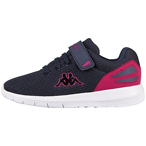 Kappa Trust, Sneakers Basses Fille Bleu (Navy/pink)