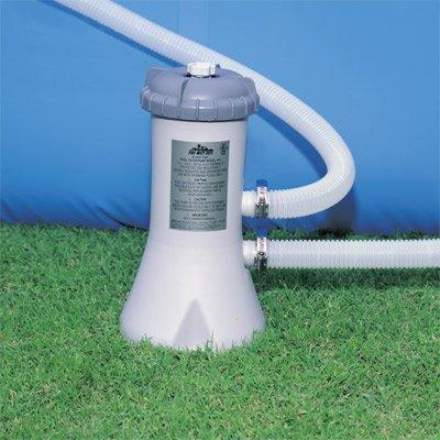 INTEX 28604 Pool Filterpumpe 2271 l/h Pumpe Schwimmbad Filteranlage+1 Kartusche
