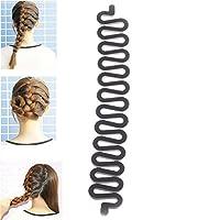 JaneDream 1 Women Fashion Magic Hair Styling Clip Stick Braid Tool Hair Accessory