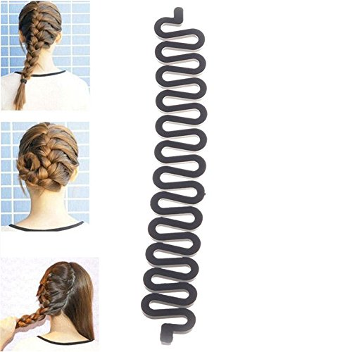JaneDream 1 Women Fashion Magic Hair Styling Clip Stick Braid Tool Hair Accessory