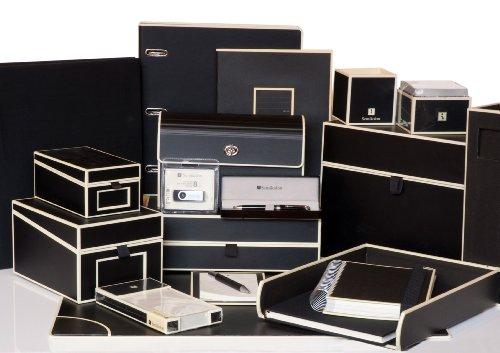 fotokarton schwarz Semikolon (352965) Maxi Mucho Album black (schwarz) | Spiral-Fotoalbum mit 90 Seiten u. Leinen-Einband | Spiral-Foto-Buch schwarzem Fotokarton