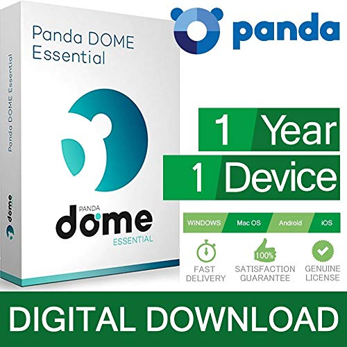 Panda AntiVirus PRO / Dome Essential 1 PC 2019 1 dispositivi 1 Licenza ESD (Electronic Software...