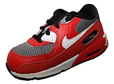 Nike Air Max 90 TD Schuhe 408110 Rot 602 Baby Kinder
