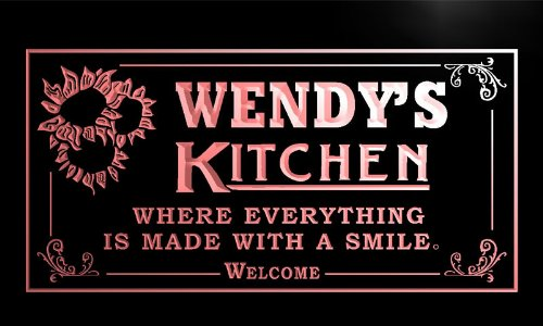 ps115-r-wendys-personalized-welcome-kitchen-bar-wine-neon-light-sign