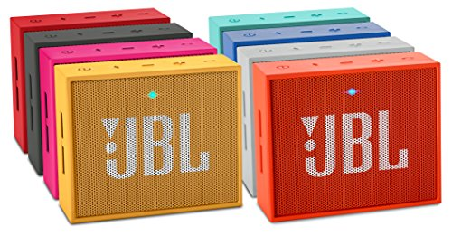 JBL Go Ultra Wireless Bluetooth Lautsprecher (3,5mm AUX-Eingang, geeignet für Apple iOS und Android Smartphones, Tablets und MP3 geräten) schwarz -