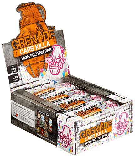 Grenade Carb Killa Birthday Cake, 1er Pack (1 x 720 grams)