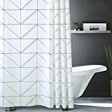 PEVA Duschvorhang Badezimmer Einfaches Nordeuropa Duschvorhangtuch/wasserdichter Mehltau Toilettentrennvorhang/Duschvorhang,A_200cmx300cm