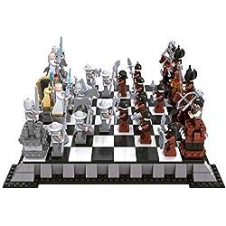 Juguete de construcción ajedrez piratas y caballeros.