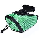 SHUFAGN,Paquet de sac de feux arrière arrière antidérapants en PVC pour vélo de vélo(color:VERT)