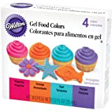 Colorant alimentaire gel mis 4/Pkg-Neon