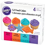 Wilton Gel Food Colors .3oz 4/Pkg