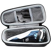 VIVENS Viajar Difícil Caso Bag para SweetLF Afeitadora Eléctrica Rotativa Uso en Húmedo y Seco para Hombre con Cortapatillas Desplegable