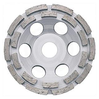 ADT Diamant Schleiftopf Topfschleifer Ø 115 mm für Beton, Estrich und allg. Baumaterialien Schleifteller Schleifscheibe