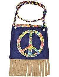 Hippy Handbag Accessory Fancy Dress
