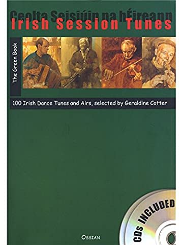 Irish Session Tunes: The Green Book (Book/2CDs). Für Alle Instrumente, Tin Whistle (Irische Blechflöte), Querflöte, Dudelsack
