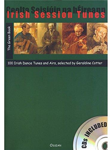 Irish Session Tunes: The Green Book (Book/2CDs). Für Alle Instrumente, Kinderflöte, Querflöte,...