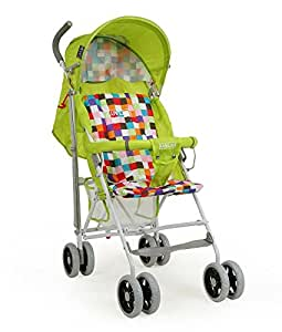 LuvLap Comfy Baby Buggy (Green)