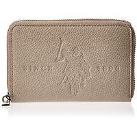 US Polo Womens Medium Zip Around Wallet, Grey - BIUCS0683WVP100