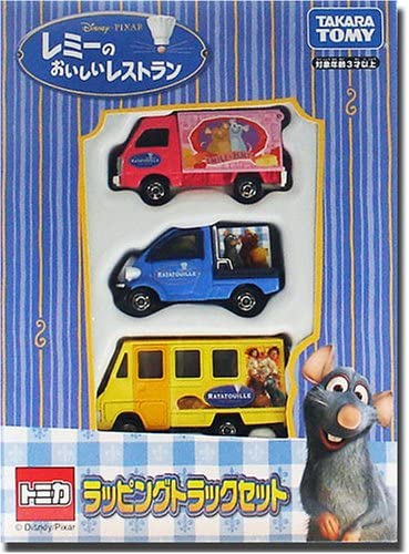 Ratatouille: Wrapping Truck Truck Truck Boxed Set (japan import) 59dcdd