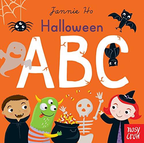 Halloween ABC (Jannie Ho's ABC) (9 Buchstaben Halloween Wörter)