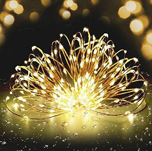 Catena Luminosa Luce della Stringa 20M 200 Led Luci Stringa