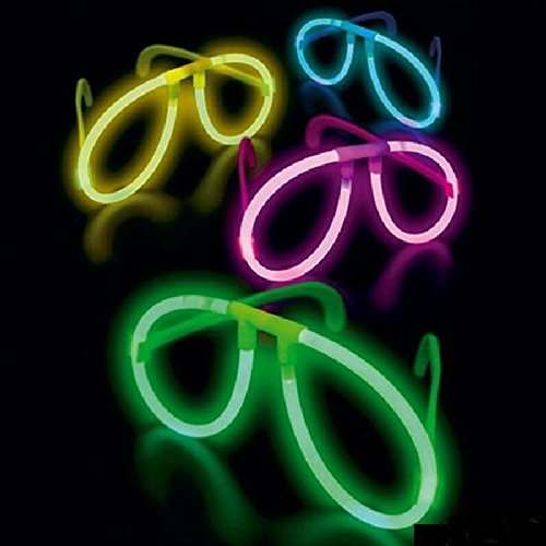 Mondial-Fete - Lunettes Fluo avec Monture