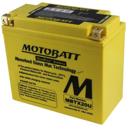 MOTOBATT Batteria MBTX20U
