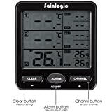 Sainlogic Wireless Indoor/Outdoor 8-Channel Thermo-Hygrometer with Three Remote Sensors