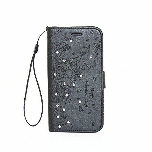 Preisvergleich Produktbild PU Silikon Schutzhülle Handyhülle Painted pc case cover hülle Handy-Fall-Haut Shell Abdeckungen für Nokia lumia 650 N650 +Staubstecker (4PP)